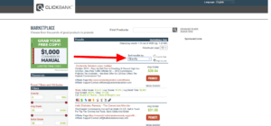 How to do product research on clickbank